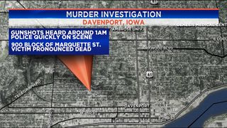 Man dies in Davenport shooting early Thursday morning, police say