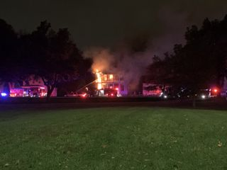 House destroyed in Davenport fire