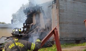 Historic 'Whistle Stop' in Davenport burns to ground