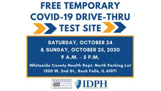 Mobile COVID-19 testing site coming to Whiteside County