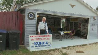 Veterans Voices: Rock Island Korean war veteran transforms his garage into a Veterans Museum