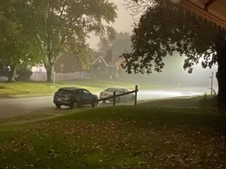 Rain pummels Quad-Cities early Thursday morning